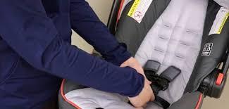 how to rethread evenflo car seat straps