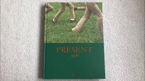 exo 엑소 photobook present gift