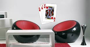 Hearts Playing Card Wall Decal Dezign With A Z