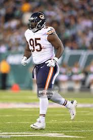 Chicago Bears defensive tackle Ego Ferguson during a NFL game ...