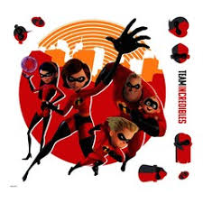 The Incredibles Wall Decals Wall Decor Home Decor Kohl S