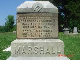 Addie J. Utterback Marshall (1862-1944) - Find A Grave Memorial