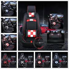 9 pcs set leather auto car seat cover