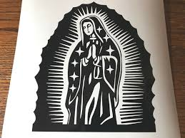 Virgin Mary Guadalupe Vinyl Religious Decal 6514 For Sale Online Ebay