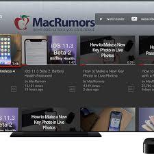 YouTube App for Apple TV Receives Major Redesign - MacRumors