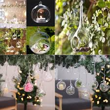 glass 8 10 12cm hanging baubles ball