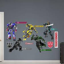 Transformers Age Of Extinction Wall Decals Transformers News Tfw2005