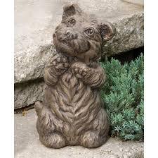 dog statue spirit westie 10 75