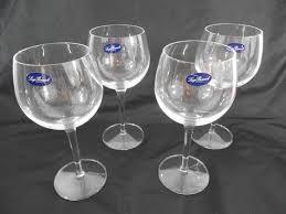 luigi bormioli roma wine glasses set of