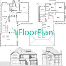 house extension plans uk floorplan