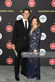 Shannon Cole of the Wanderers and his wife Jacqueline Cole arrive... News  Photo - Getty Images