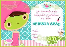 Invitaciones De Spa De Ninas Buscar Con Google Spa De Ninos