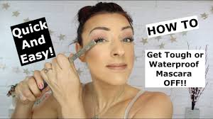 waterproof and stubborn mascara