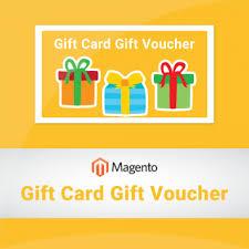 magento gift card gift voucher