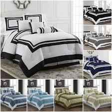 7 piece comforter set grey cal king