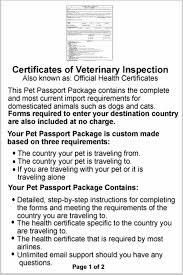 Philippines Pet Passport | Instructions & Required Forms