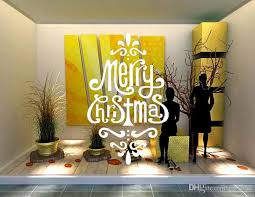 Diy Creative Festival Merry Christmas Wall Stickers Shop Office Window Decals Xmas Wall Vinyl Decal Art Living Room Bedroom Home Decoration Stickers Wallpaper Stickers Walls From Fst1688 7 72 Dhgate Com