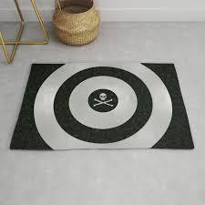 silver target rug by futurerevolution