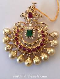 south sea pearls pendant gold jewelry