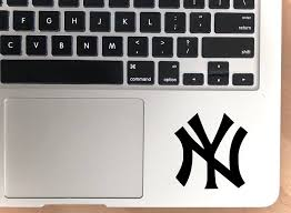 New York Yankees Vinyl Decal Yankees Car Window Decal New Etsy