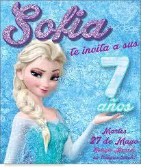 Frozen Elsa Invitaciones De Cumpleanos Fiesta Cumpleanos