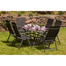 sol 72 outdoor shona 6 seater dining