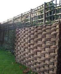 Willow Hurdle 6ft X 4ft Natural Fencing