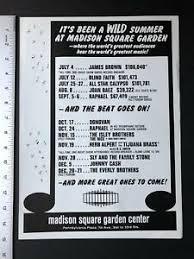 madison square garden 1969 original