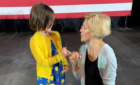 Abby K. Wood : Elizabeth Warren's selfie with my daughter went viral  because pinkie promises mean something