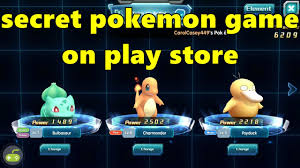 secret pokemon game on play store - Mega Catch - YouTube