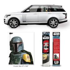 Fanwraps Automotive Graphics Star Wars Classic Boba Fett Passenger Series Window Decal Active Powersports