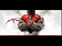 street fighter ryu wallpaper engine