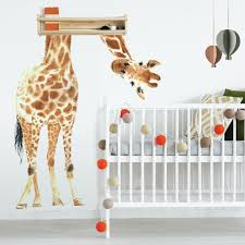 Giraffe Peel And Stick Giant Wall Decals Roommates Decor