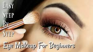 beginners eye makeup tutorial parts
