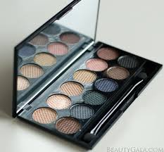 lookbook sleek makeup storm palette