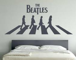 Beatles Wall Decal Etsy