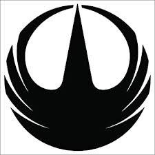 Amazon Com Cove Signs Rogue One Vinyl Decal Sticker Black 4 Star Wars Automotive