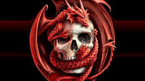 evil skull wallpapers top free evil