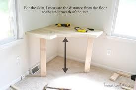 diy dressing table beneath my heart