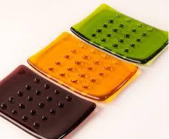 artisan glass soap dish manufacturer in