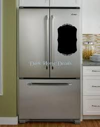 Refrigerator Chalkboard Removable Vinyl Vintage Style Etsy