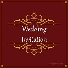 indian wedding invitation wording for