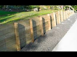 How To Build A Retaining Wall Part 1 Mitre 10 Easy As Building A Retaining Wall Retaining Wall Diy Retaining Wall