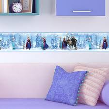 Wall Border Stickers For Baby Room Frozen Muraldecal Com