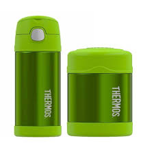 Shop Thermos Funtainer Insulated 12oz Drink Bottle And 10oz Food Jar Lime Green Overstock 22077002