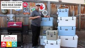 what size yeti cooler should i