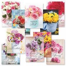 fl bouquets birthday greeting cards