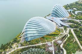 singapore flower dome and cloud forest