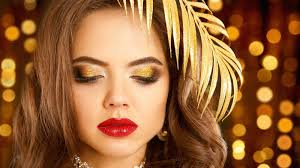 new year s eve makeup tutorial gold