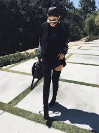 dress boots jacket kylie jenner